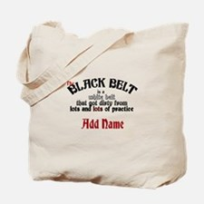The Black Belt is Tote Bag
