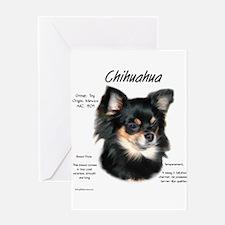 Chihuahualong Greeting Cards