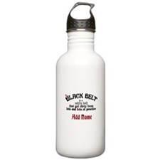The Black Belt is Sports Water Bottle