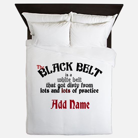 The Black Belt is Queen Duvet