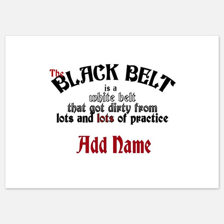 The Black Belt is Invitations