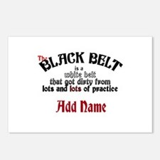 The Black Belt is Postcards (Package of 8)