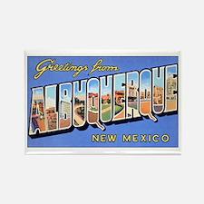 Albuquerque New Mexico Rectangle Magnet