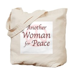 Another Woman for Peace Tote Bag