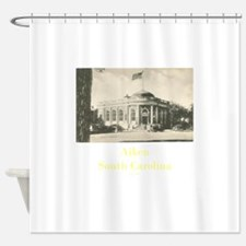 Old Aiken Post Office Shower Curtain