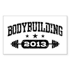 Bodybuilding 2013 Decal