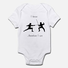 Fencing Infant Bodysuit