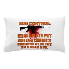 Zombie gun control Pillow Case