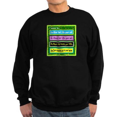 I Wanna Be-Keith Urban/t-shirt Sweatshirt (dark)