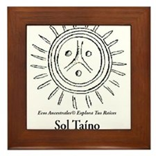 Sol Taino Framed Tile