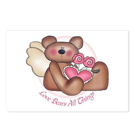 Love Bears All Angel Postcards (Package of 8)