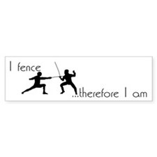 Fencing Bumper Bumper Sticker