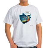 Coral reef Mens Light T-shirts
