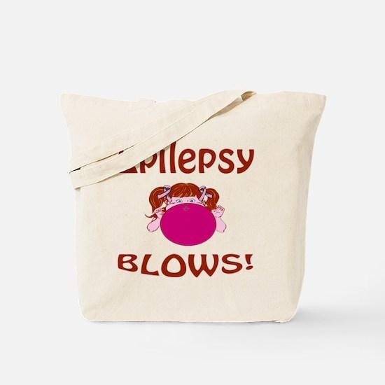 Epilepsy Blows! Tote Bag