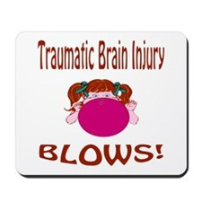 Traumatic Brain Injury Blows! Mousepad