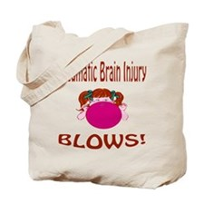 Traumatic Brain Injury Blows! Tote Bag