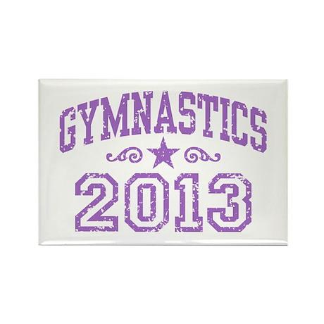 Gymnastics 2013 Rectangle Magnet