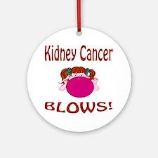 Kidney Cancer Blows! Ornament (Round)