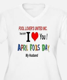 April Fool Husband T-Shirt