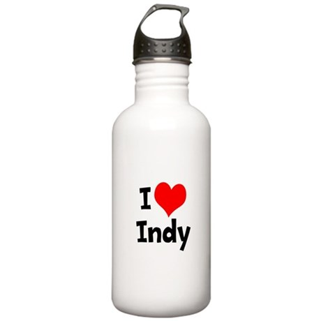 I Heart Indy 3 Stainless Water Bottle 1.0L