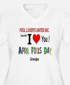 April Fool Grandpa T-Shirt