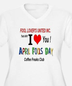 April Fool Coffee Freak T-Shirt