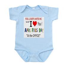 April Fool At The Office Infant Bodysuit