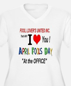 April Fool At The Office T-Shirt