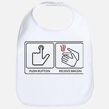 Push button! Bib