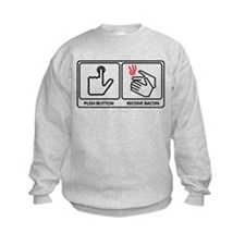 Push button! Sweatshirt