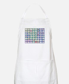 8x8 Picture Communication Board Apron