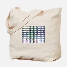 8x8 Picture Communication Board Tote Bag