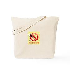 Spackle Free Zone Tote Bag