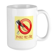 Spackle Free Zone Mug