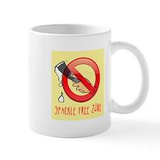 Spackle Free Zone Mug