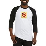 Spackle Free Zone Baseball Jersey