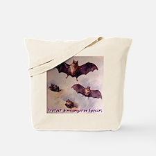 Bats Protect Endangered Speci Tote Bag