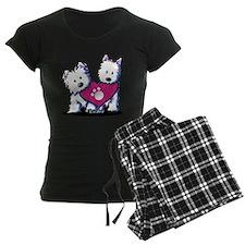 Valentine Westies Pajamas