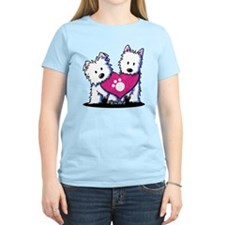 Valentine Westies T-Shirt