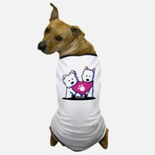 Valentine Westies Dog T-Shirt