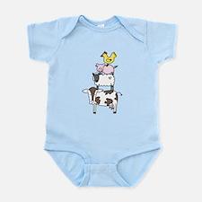 Farm Pyramid Infant Bodysuit