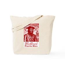 Blackbeard Pirate in Puerto Rico Tote Bag