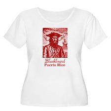 Blackbeard Pirate in Puerto Rico T-Shirt