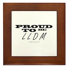 Proud to be Framed Tile