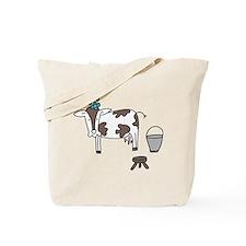 Pretty Cow Tote Bag