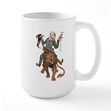 Oz Scarecrow and Lion Mug