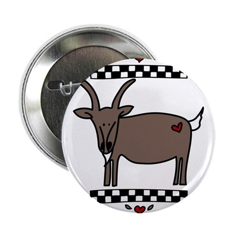 """No Goats No Glory 2.25"""" Button"""