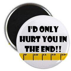 Ruler I'd Only Hurt You In th Magnet