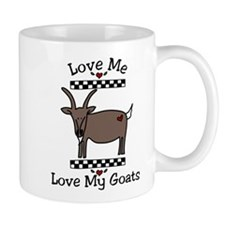 Love Me Love My Goats Mug