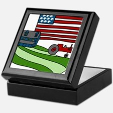 Old Glory Keepsake Box